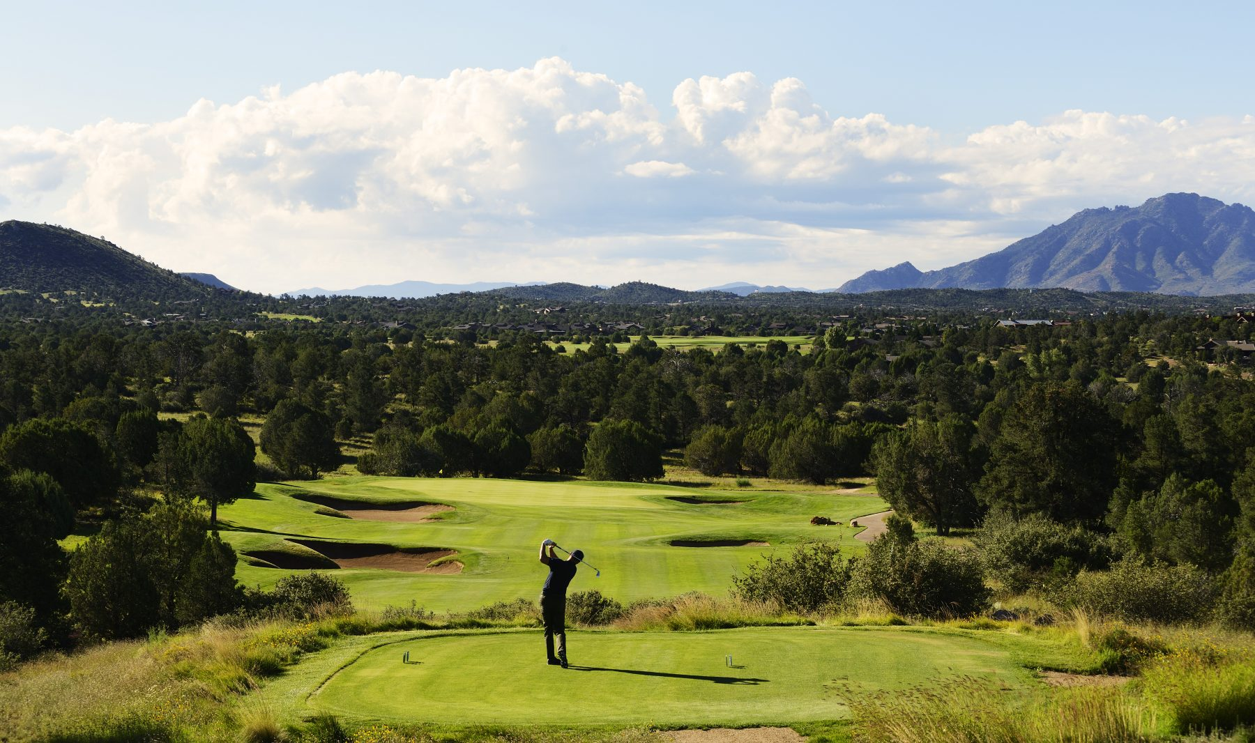 Northern Arizona golfing at Talking Rock